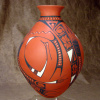 SOLD ! ................. RED OLLA BY VICTOR REYES- TZ