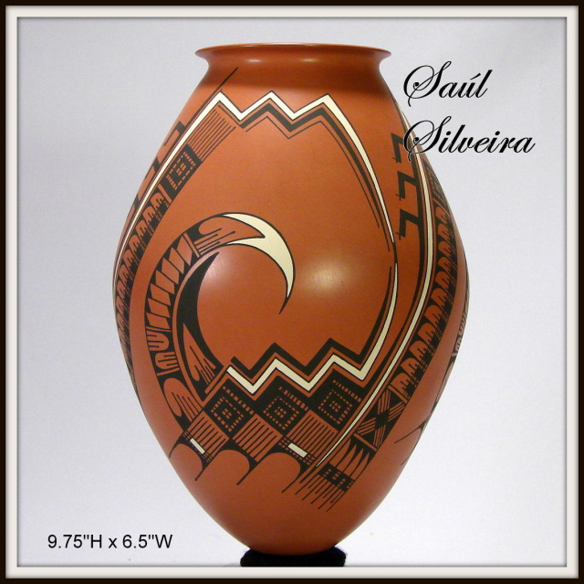 LEATHER BROWN OLLA BY SAUL SILVEIRA CELEBRATING 50 YRS MAKING HISTORY